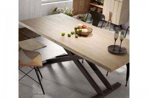 Стол на двух металлических ножках - Мебельная фабрика «Формада»