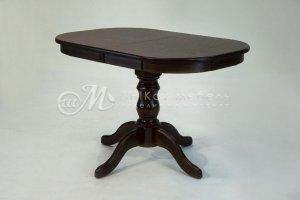 Стол на одной деревянной ножке Сильвер - Мебельная фабрика «ШиковМебель»