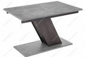Стол на тумбе Тирион бетон - Импортёр мебели «Woodville»
