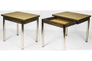 Стол Неаполь- ЛЮКС (со стеклом) - Мебельная фабрика «Собрание»