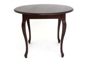 Стол обеденный 1000-D темный орех - Импортёр мебели «RedBlack (Малайзия, Турция, Китай)»