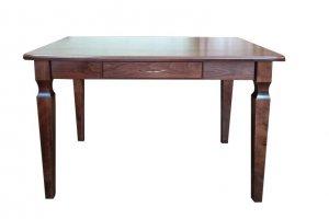 Стол обеденный 114 Массив Бука с ящиком - Мебельная фабрика «Нормис»
