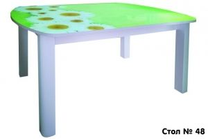 Стол обеденный 48 - Мебельная фабрика «Максимум-хром»
