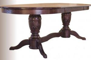 Стол обеденный 5 Коньяк - Мебельная фабрика «Евростиль»