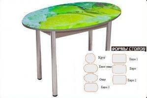Стол обеденный Фотопечать 1 - Мебельная фабрика «Корфил»