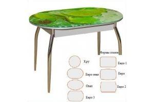 Стол обеденный фотопечать 4 - Мебельная фабрика «Корфил»