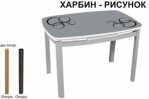 СТОЛ ОБЕДЕННЫЙ ХАРБИН РИСУНОК - Мебельная фабрика «Аврора»
