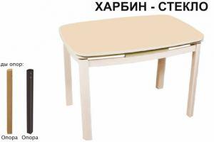 СТОЛ ОБЕДЕННЫЙ ХАРБИН СТЕКЛО - Мебельная фабрика «Аврора»