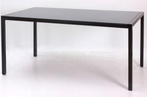 Стол обеденный HUGO-XL  из закаленого стекла - Мебельная фабрика «Мебель-Покупай»