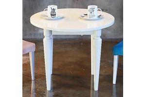 Стол обеденный интерьерный белый - Мебельная фабрика «Долорес»