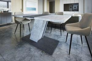 Стол обеденный Kross beton-antracite - Мебельная фабрика «Прагматика»