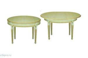 Стол обеденный круглый ЛЕКС 6 - Мебельная фабрика «ТехКомПро»