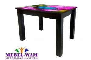 Стол обеденный Квадро Б с фотопечатью - Мебельная фабрика «Мебель Вам»