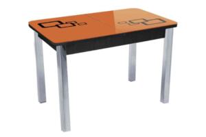 Стол обеденный Квадро стекло трафарет - Мебельная фабрика «Tandem»