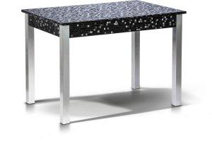 Стол обеденный Лугано мозаика черная - Мебельная фабрика «Бум-Мебель»