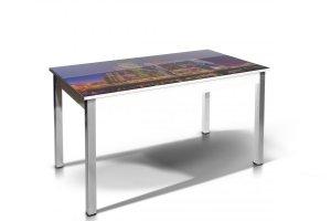 Стол обеденный Лугано с фотопечатью - Мебельная фабрика «Бум-Мебель»