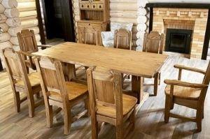 Стол обеденный массив - Мебельная фабрика «Массив»