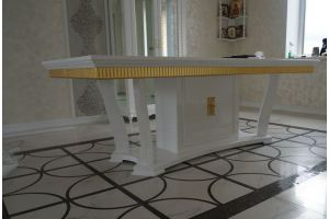 Стол обеденный МДФ, массив  - Мебельная фабрика «Кадичи»