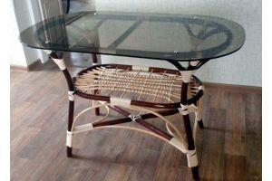 Стол обеденный Овальный - Мебельная фабрика «Плетеная Мебель»