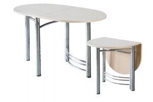 Стол обеденный Пристенный - Мебельная фабрика «GlassArt»