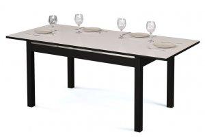 Стол обеденный раскладной Альба со стеклом - Мебельная фабрика «Бум-Мебель»