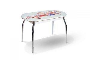Стол обеденный раскладной Сиена фотопечать - Мебельная фабрика «Бум-Мебель»