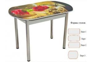 Стол обеденный раздвижной Фотопечать 3 - Мебельная фабрика «Корфил»