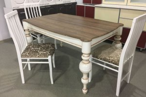 Стол обеденный раздвижной Премиум-2 - Мебельная фабрика «Орнамент»