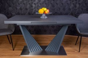 Стол обеденный Rise Nero - Мебельная фабрика «Левмар»