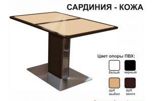 Стол обеденный Сардиния кожа - Мебельная фабрика «Аврора»