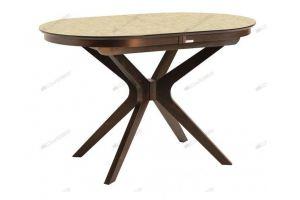 Стол обеденный СИЛЬВЕР 120/80-КМ - Мебельная фабрика «Лидер»