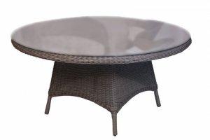 Стол обеденный со стеклом Garden - Мебельная фабрика «Dome»