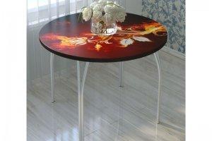 Стол обеденный стекло фотопечать СО 04 - Мебельная фабрика «Милайн»