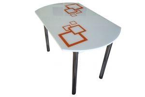 Стол обеденный стеклянный европейский - Мебельная фабрика «Астера»