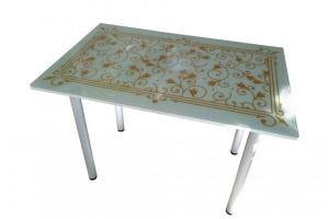 Стол обеденный стеклянный КС 013 - Мебельная фабрика «Астера»