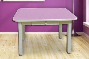 Стол обеденный Т-6 с ящиком - Мебельная фабрика «Наша Мебель»