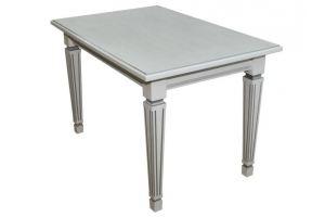 Стол обеденный Васко белый/патина 120*80 - Мебельная фабрика «Мебелик»