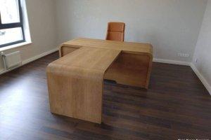 Стол офисный из дерева - Мебельная фабрика «Папа Карло»