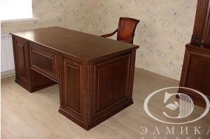 Стол офисный массив - Мебельная фабрика «Элмика»