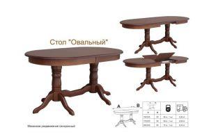 Стол овальный - Мебельная фабрика «Алина-мебель»