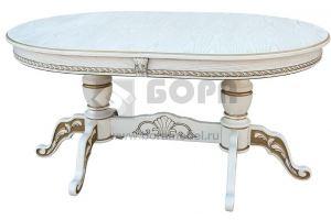 Стол овальный Леон-2 - Мебельная фабрика «BORA FASAD»