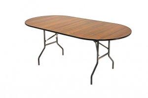 Стол овальный, складной 249-75 дельта - Мебельная фабрика «Мебель ОПТ 98»