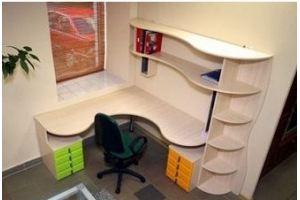Стол письменный детский - Мебельная фабрика «Папа Карло»