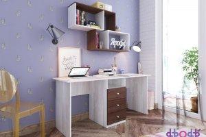 Стол письменный двухместный - Мебельная фабрика «ЯРОФФ»