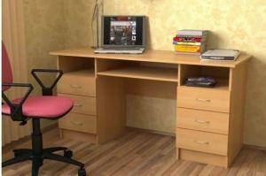 Стол письменный двухтумбовый - Мебельная фабрика «СлавМебель»