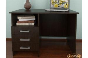 Стол письменный однотумбовый - Мебельная фабрика «Уют-М»