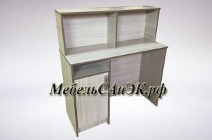 Стол письменный офисный 06 - Мебельная фабрика «САнЭК»