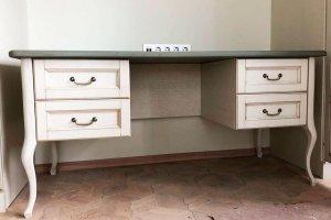 Стол письменный с двумя тумбами - Мебельная фабрика «Курдяшев-мебель»
