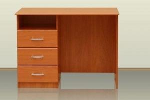Стол письменный с одной тумбой - Мебельная фабрика «Архангельская мебельная фабрика»