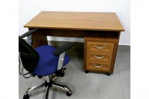Стол письменный с тумбой выдвижной - Мебельная фабрика «КМТ-мебель»